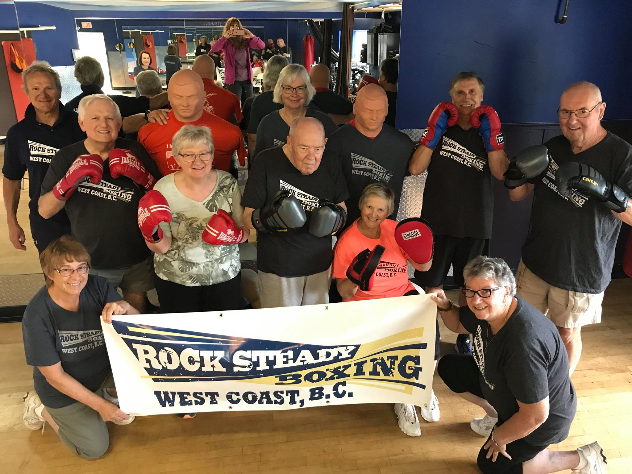 Tuesdays and Thursdays Alberni Fitness hosts the West Coast Rock Steady Boxing for Parkinsons!